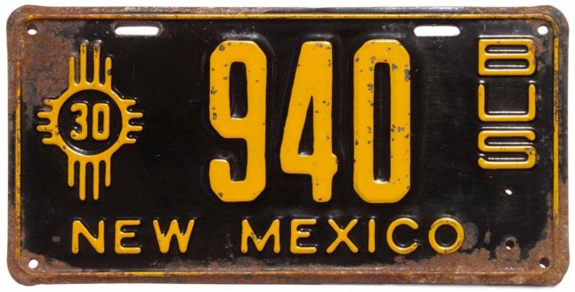 History of new mexico license plates Motor vehicle department albuquerque new mexico