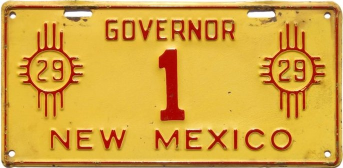 History of New Mexico License Plates - NMplates com