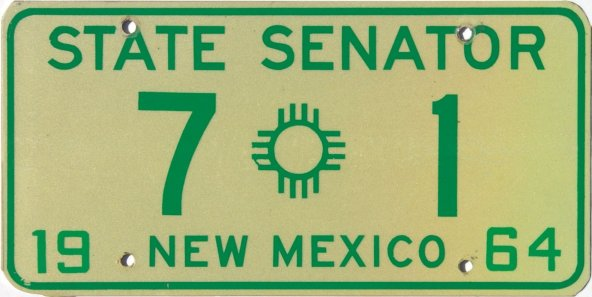 New Mexico License Plates A Brief History