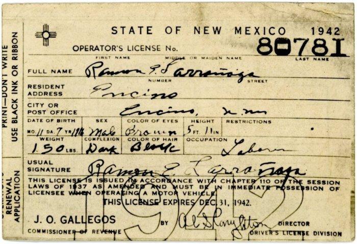 nm renew drivers license fee