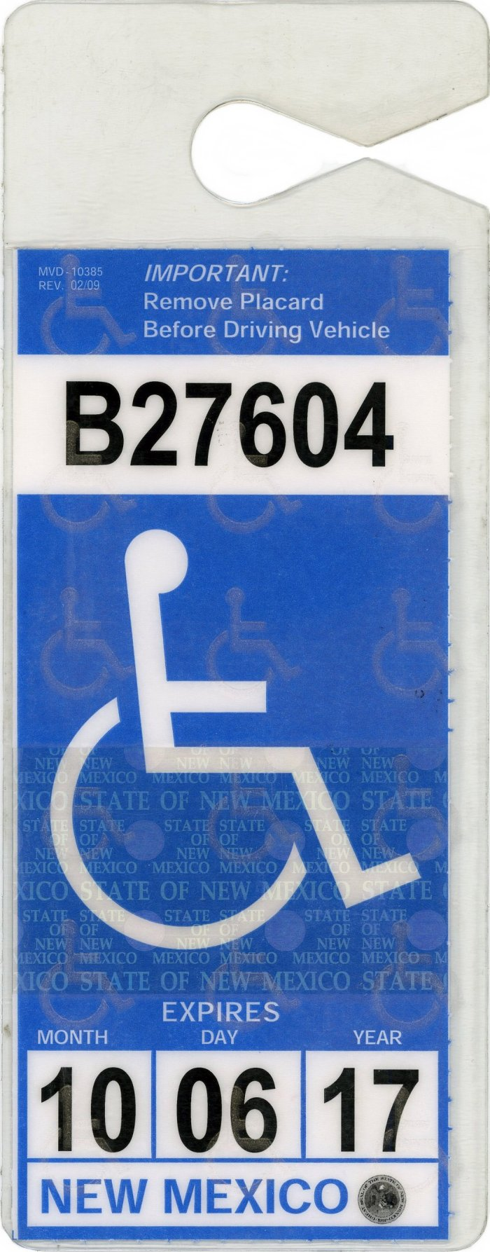 New Mexico Handicap Parking Permits